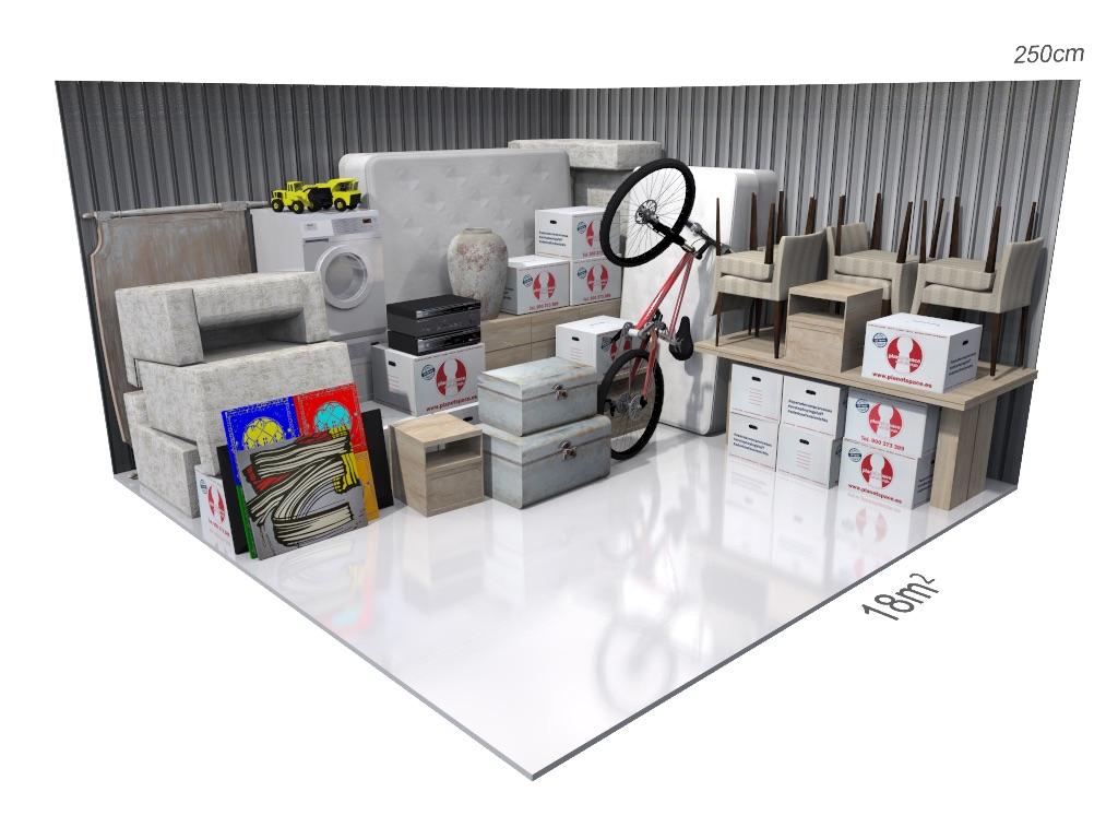 18m Yacht Storage Space